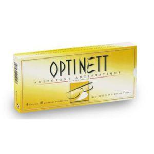 LINGETTE NETTOYANTE Kit d'entretien OPTINETT 40 Lingettes nettoyantes