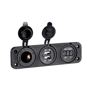 MULTIMÈTRE Voltmètre numérique avec prise usb + prise 12v a e