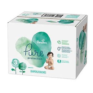 COUCHE 308 Couches Pampers Pure Protection taille 3
