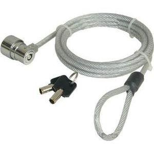 SYSTÈME ANTIVOL  Câble de sécurité à câble métallique avec serrure