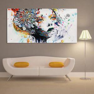 TABLEAU - TOILE TEMPSA Peinture à Huile Tableau deToile Art Abstra