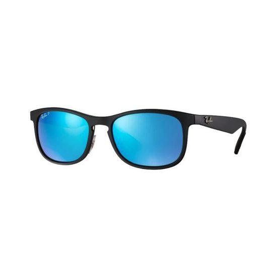 Lunettes de soleil Ray-Ban RB4263 Chromance Noir Mat Bleu Flash Polarisé  Medium - Achat   Vente lunettes de soleil Mixte Adulte Noir - Soldes  dès  le 9 ... cb3247e7e95e
