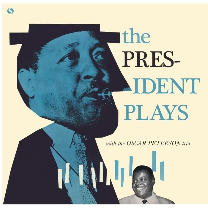 LESTER YOUNG The President Plays with The Oscar Peterson Trio - 33 Tours - 180 grammes