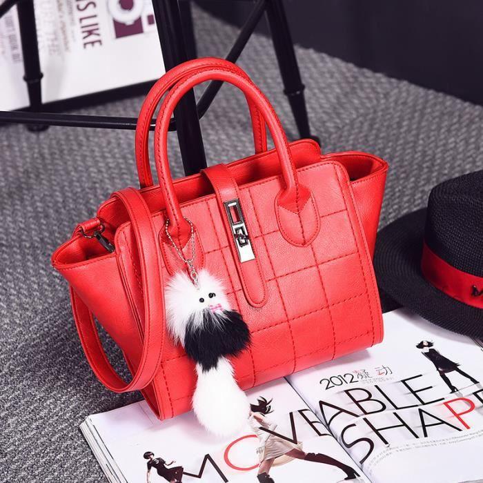 célèbres à femmes Femme rouge sac à En Cuir petit marque