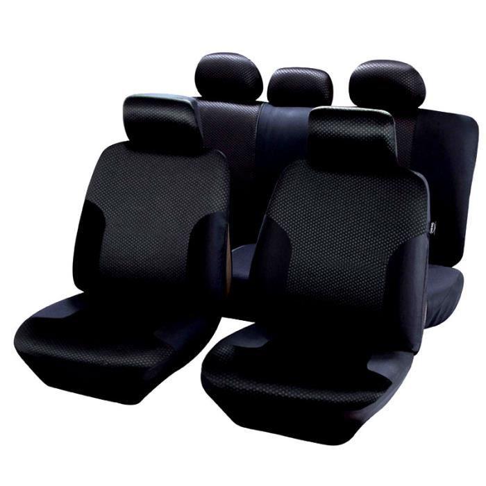 housses de si ge noir pour bmw s rie 1 e87 f20 f21 qd204 achat vente housse de si ge. Black Bedroom Furniture Sets. Home Design Ideas
