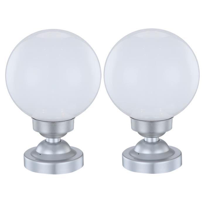 Solaire Lampe 2 Support Extérieur De Lot Led D'éclairage Radiateur Lumière jLc3qSR4A5