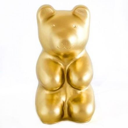 Jelly Bear Lampe A Poser Veilleuse Led Ours Dore H29cm Off