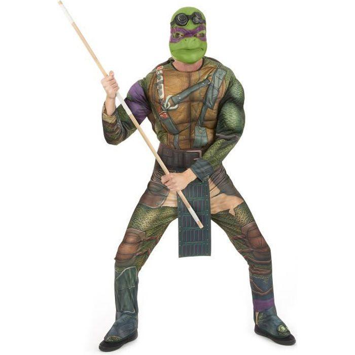 Déguisement Donatello Tortues Ninja adulte - 74747 - Achat   Vente ... 85121efd25a3