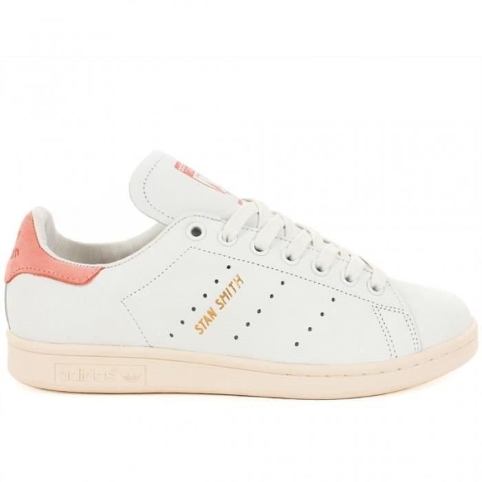 Chaussures Stan Smith - Blanche et Rose | Adidas O