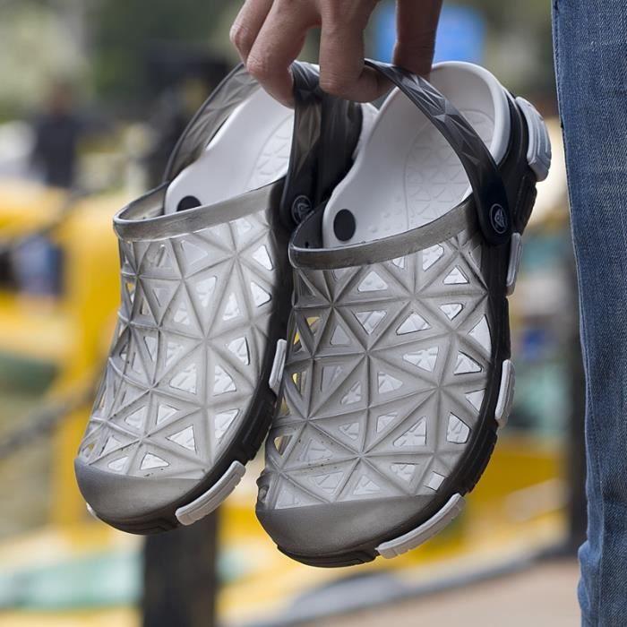 c224b1bce76c7 SANDALE - NU-PIEDS Sandales de mode pour les hommes d été Garçons Cha