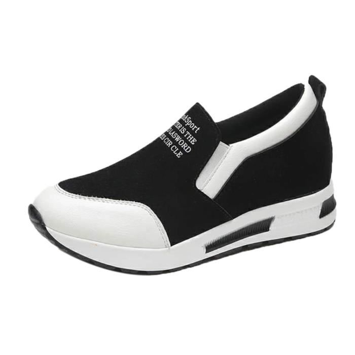 forme Chaussures Loisirs XYM71107903WH on Blanc populaire plate Slip Napoulen®mode cales 6qxHZngwv