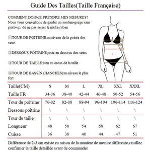 248e63ce2b ... MAILLOT DE BAIN Maillot de Bain 2 Pièces Femme Tankini Top Rembour. ‹›