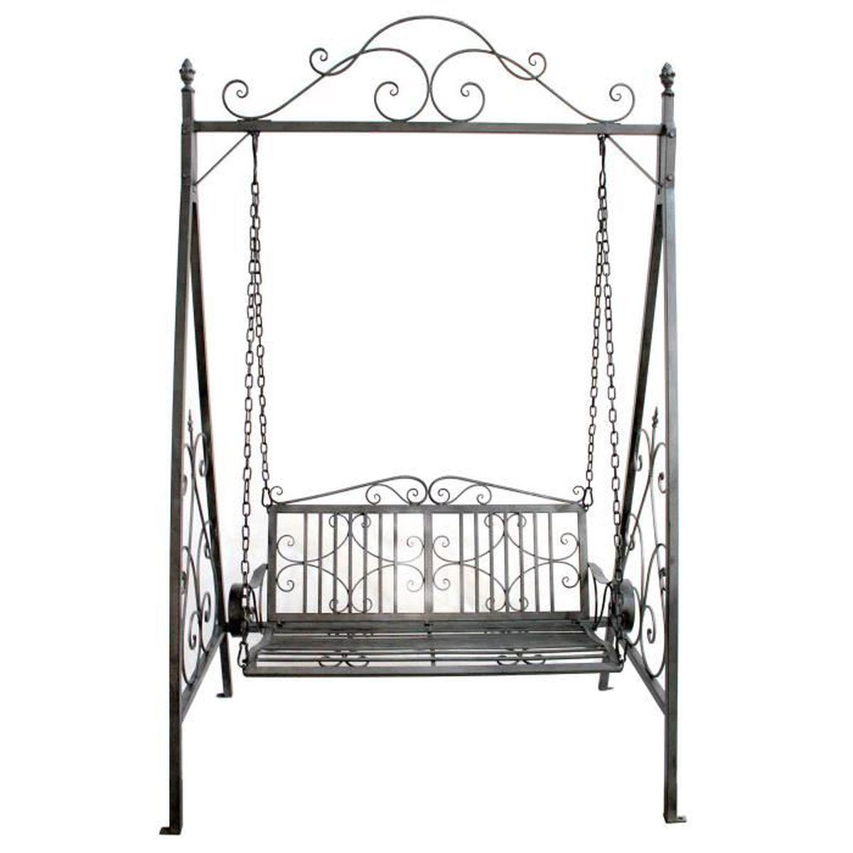 balancelle fer forg excellent style ancien banc fauteuil balancoire balancelle de jardin en. Black Bedroom Furniture Sets. Home Design Ideas