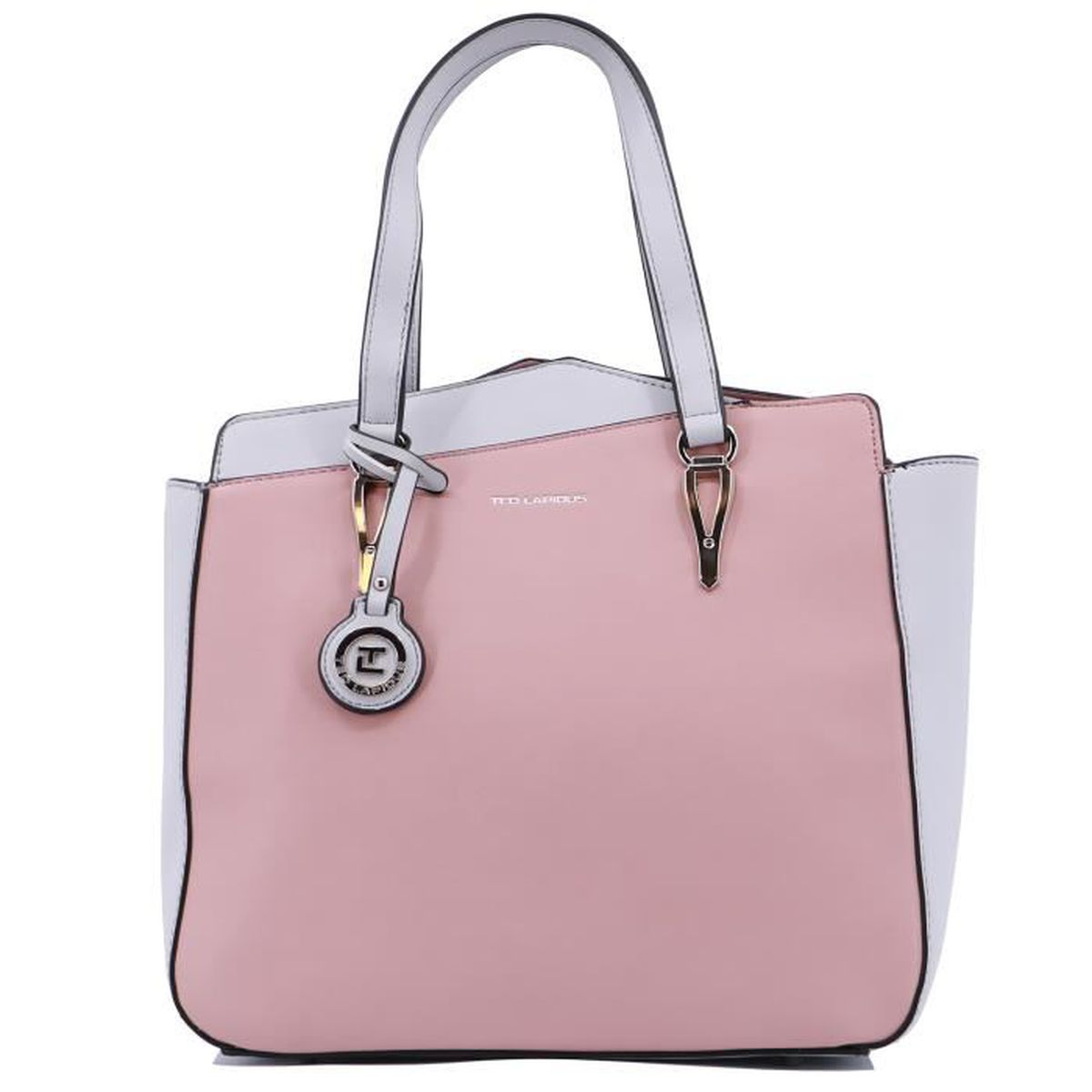 SAC SHOPPING Sac shopping Ted Lapidus Oxana synthétique aspect