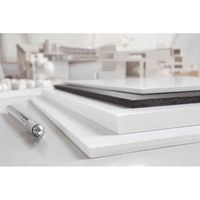 CARTON ONDULÉ Carton Polystyrène 500 x 700 mm, noir, 5 mm Lot d