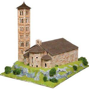 GARAGE - BATIMENT Maquette en céramique - Eglise Sant Climent Taüll