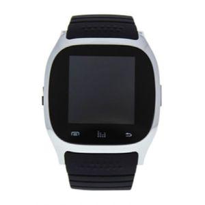 MONTRE ek-b4 montre connectee argent - bracelet en silico