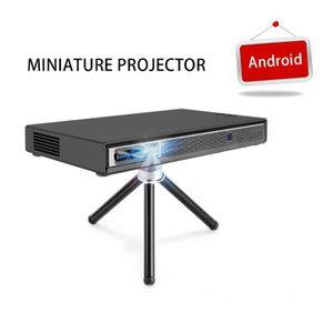 Vidéoprojecteur Mini T5 Projecteur 2019 Android 6.0 Nouvelle mise