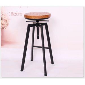 Tabouret De Bar Ou De Peintre Sur Vis Design Luxe Loft Style Retro