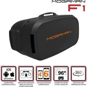 CASQUE RÉALITÉ VIRTUELLE Mogaman F1 Casque de réalité virtuelle pour smartp