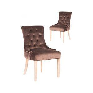 de Achat Lot pas marrons empilable Vente chaises cher XZiOPku