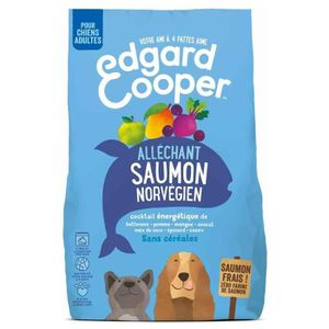 CROQUETTES Edgard & Cooper - Croquettes au Saumon pour Chien