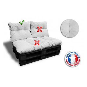coussin palette achat vente coussin palette pas cher. Black Bedroom Furniture Sets. Home Design Ideas