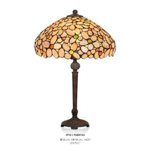 LAMPE A POSER Handmade lamp Table lamp Tiffany stool height 48 c