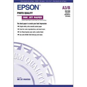 PAPIER PHOTO EPSON Photo papier S041069 - 102g / m2 - A3+ - 100
