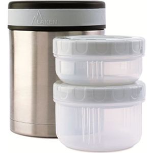 LUNCH BOX - BENTO  Thermo pour aliments Laken inox 1L