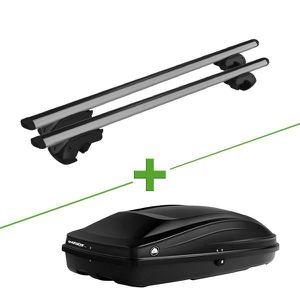 BARRES DE TOIT Pack barres et coffre de toit MBO Vulcane XL + Wab
