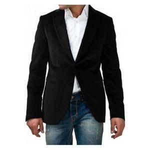 Veste en velours homme pas cher
