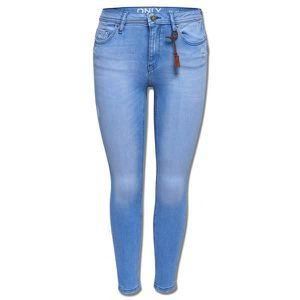 1f69b396bb Jeans Only Donna Push Up Skinny Light blue denim - Achat / Vente ...