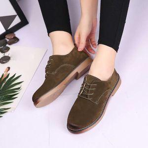 Napoulen®Femmes Flats chaussures de mode mocassins Quatre saisons populaire Vert-XYM70901904GN rzCMooq