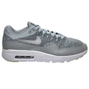 online store 34e61 aa305 BASKET Nike Air Max 1 Ultra Chaussures Flyknit loup gris