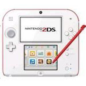 CONSOLE DS LITE - DSI Nintendo 2DS  (Blanc rouge)