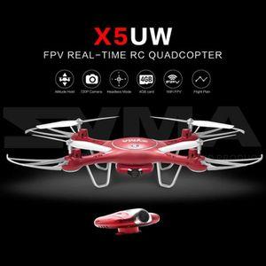 DRONE Syma X5UW WiFi FPV 720 P Appareil photo Altitude T