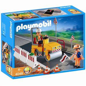 Playmobil city action la vie de chantier l 39 avion - Betonniere playmobil ...