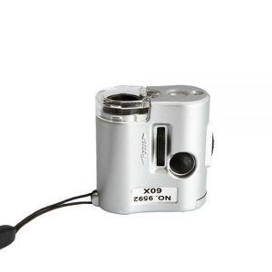 MICROSCOPE OPTIQUE Mini microscope optique de poche zoom x60 loupe...