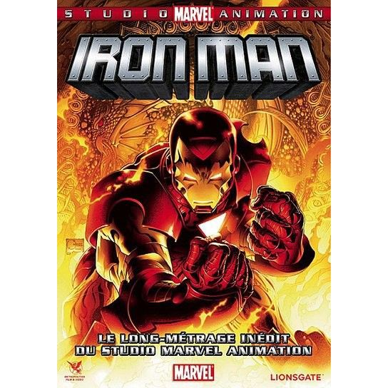 Dvd iron man the invincible iron man en dvd dessin anim pas cher paur frank d cdiscount - Iron man en dessin anime ...