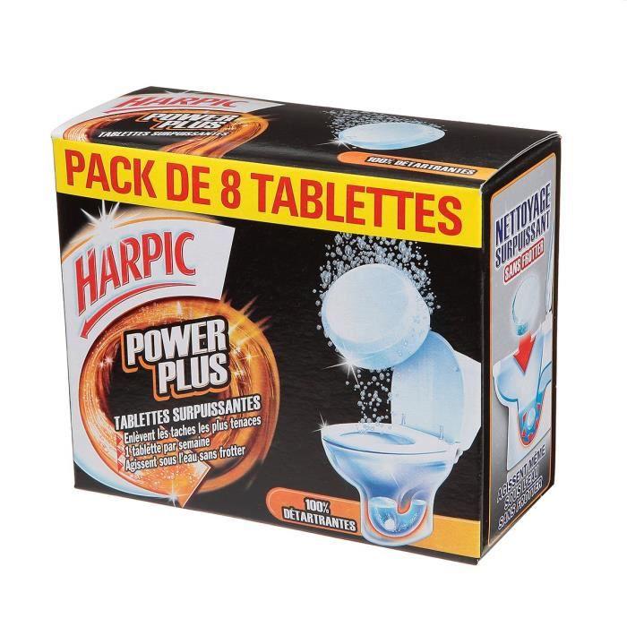 Harpic 8 tablettes surpuissantes power plus