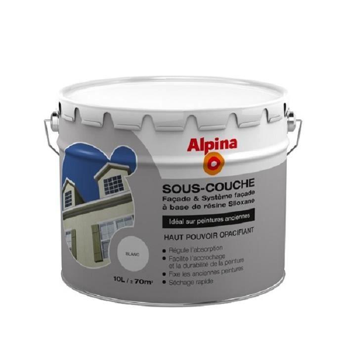 SOUS-COUCHE - ENDUIT Sous-couche façade opacifiante 10L Blanc