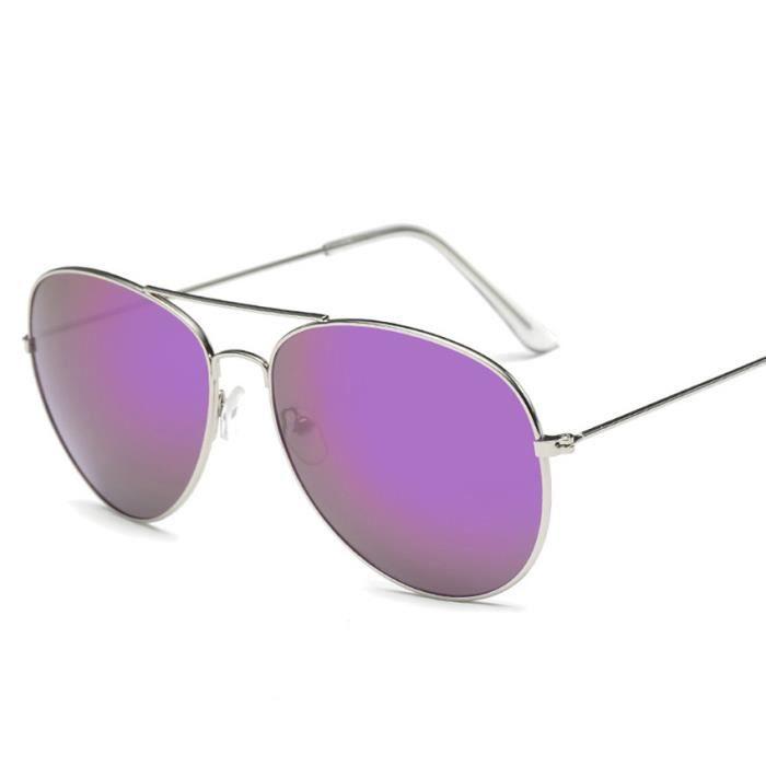 YJL70311764C@Hommes femmes Square Vintage lunettes de soleil miroir lunettes de sport en plein air