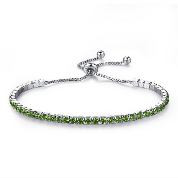 Main bijoux mode simple diamant bracelet dames art chaîne réglable