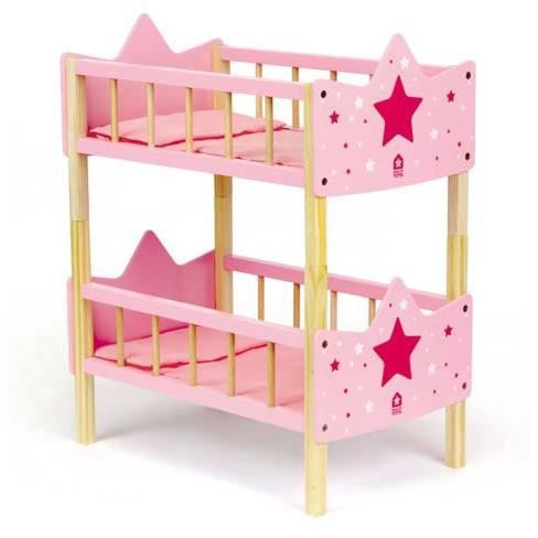 lits doubles pour poup es princesse achat vente maison. Black Bedroom Furniture Sets. Home Design Ideas