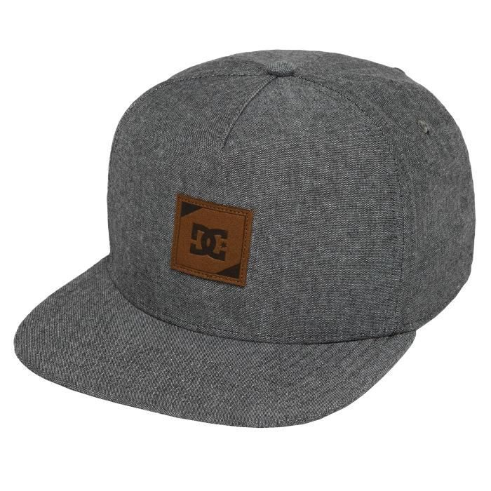 DC Homme Casquettes    Casquette Snapback   Strapback Swatchton gris ... 30ca2718784