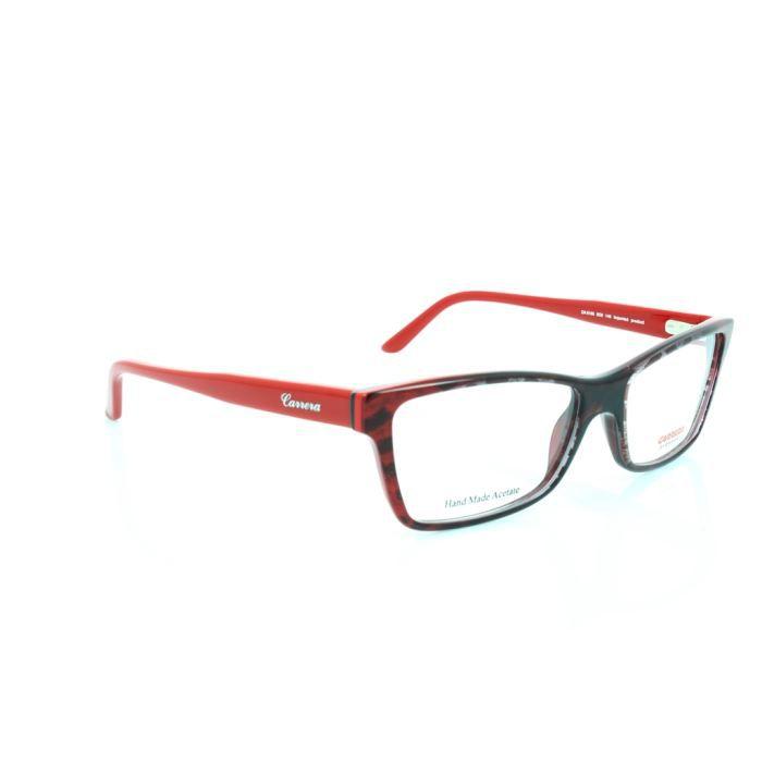 Lunettes de vue - Carrera CA6188 - Noir-Rouge Noir, Rouge - Achat ... 30be45810cc9