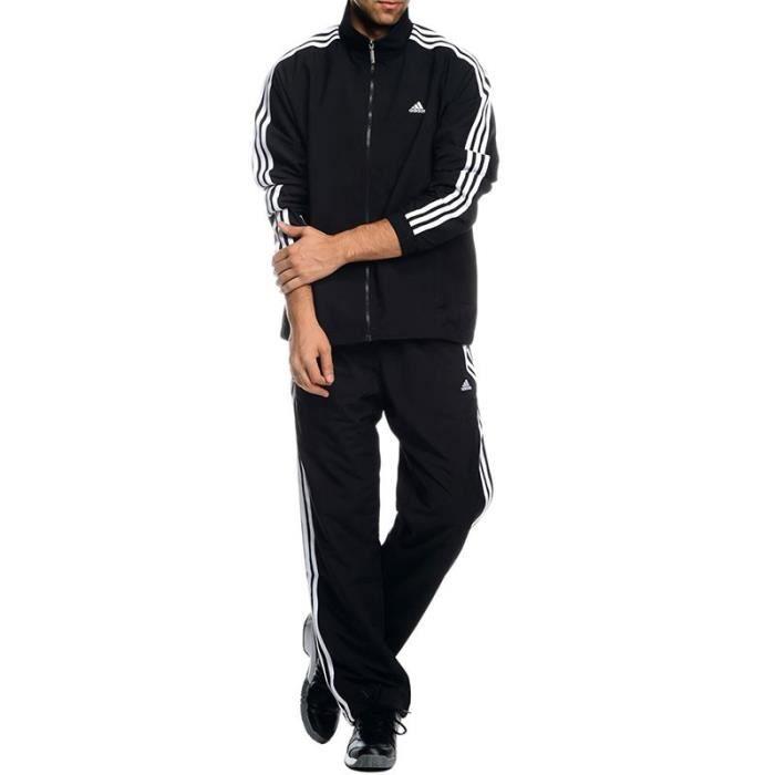 abefcf40d5c0a Survêtement TS DASSLER Noir Entrainement Homme Adidas Noir Noir ...