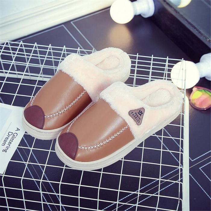 Pour Hommes Plus Hiver Chausson Homme De De Chaussures Nouvelle Pantoufle Couleur Maison Chaussure Luxe L'Hiver Arrivee x80OY