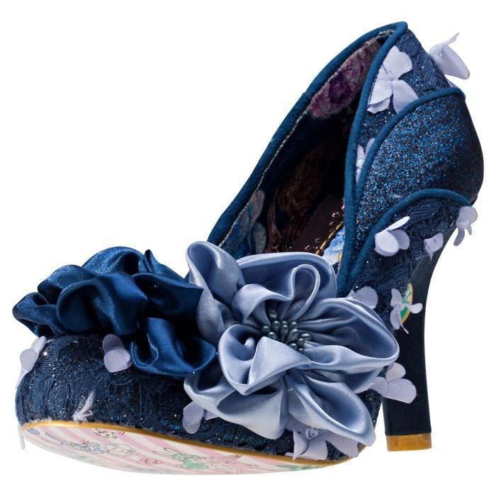 Irregular Choice Peach Melba Femmes Chaussures Marine - 37 EU